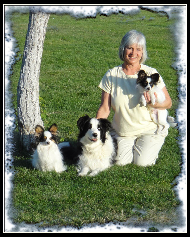 Susy and dogs October 2011